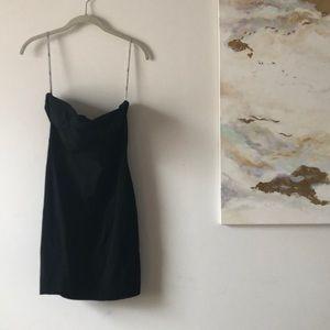 ASOS Strapless Bodycon Black Dress